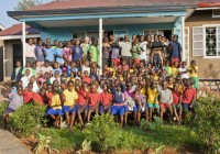 Kampala - orfanotrofio di Biina