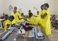 Kampala - prigione femminile di Luzira - reparto maglieria