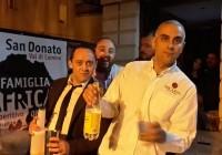 Vittorio, Marco e Moreno...barman d'eccezione...#ValCominoForAfrica