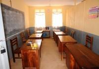 Luweero - collegio St. Cyprian Chavanod - aula